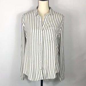 Anthro | Cloth & Stone Striped Shirt